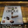 Salon du Chocolat Paris 2011 : c'est parti !