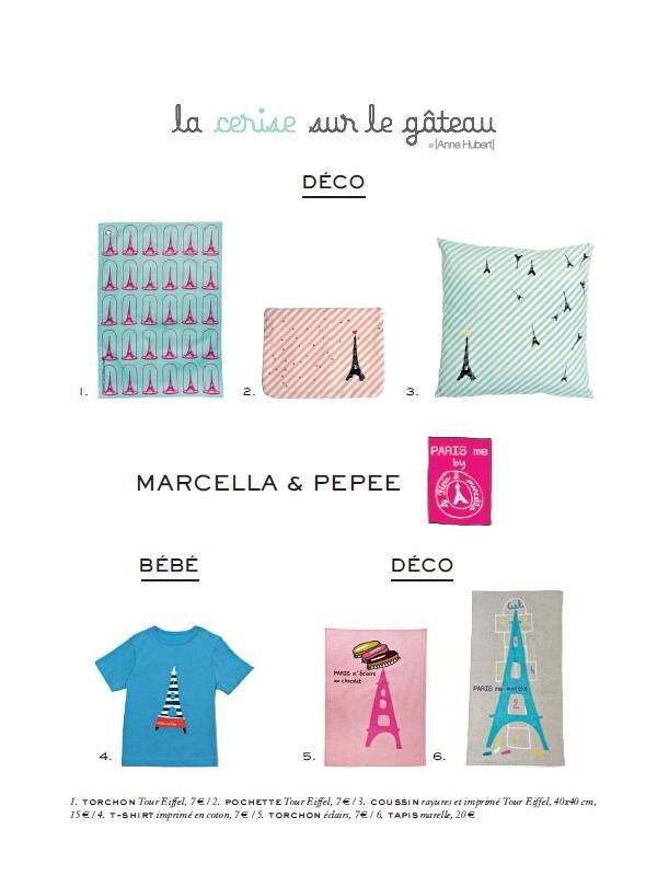marcella et p p e au 58 de la tour eiffel et chez monoprix the parisienne. Black Bedroom Furniture Sets. Home Design Ideas