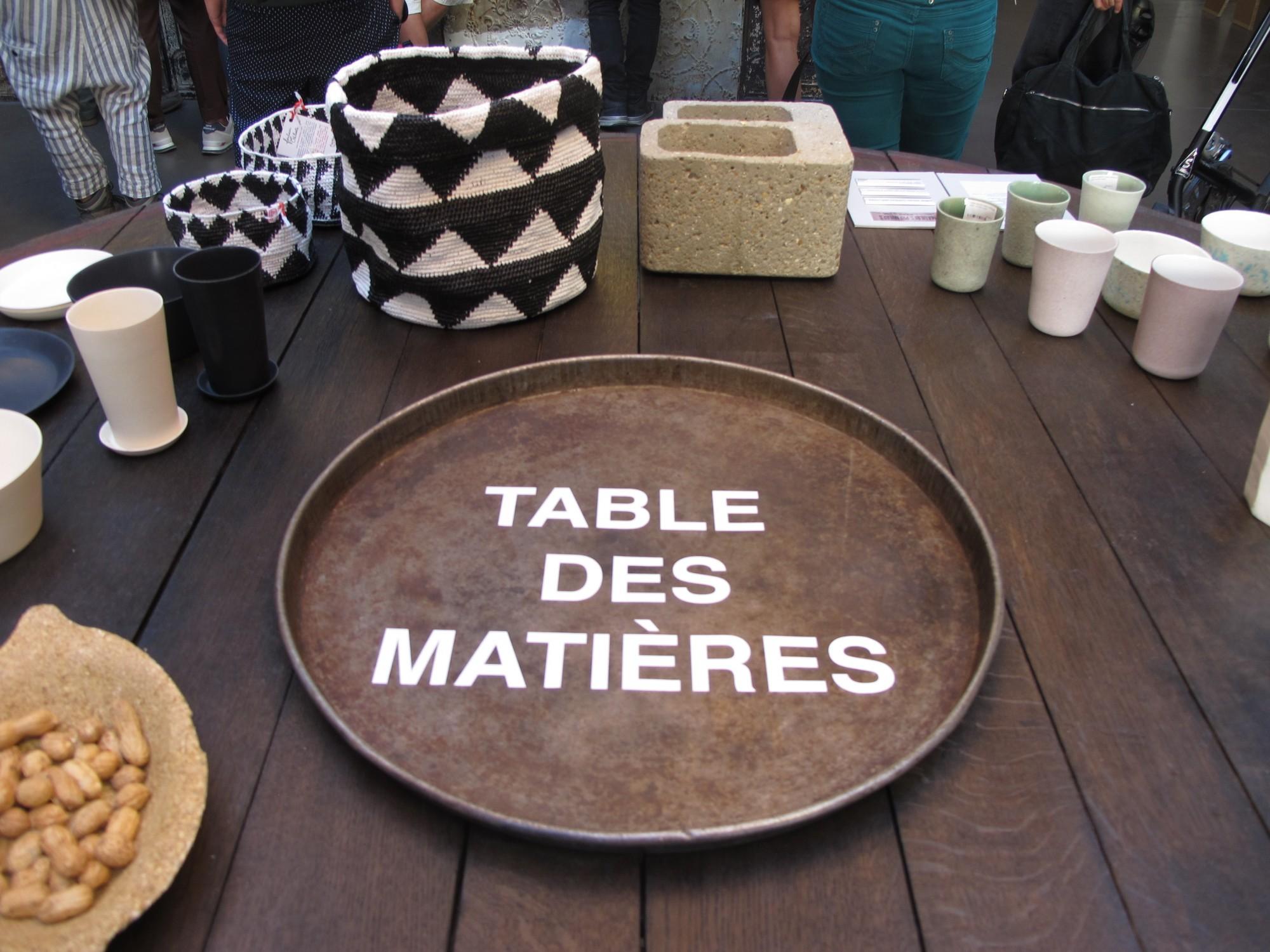paris design week mati res premi res chez merci the. Black Bedroom Furniture Sets. Home Design Ideas