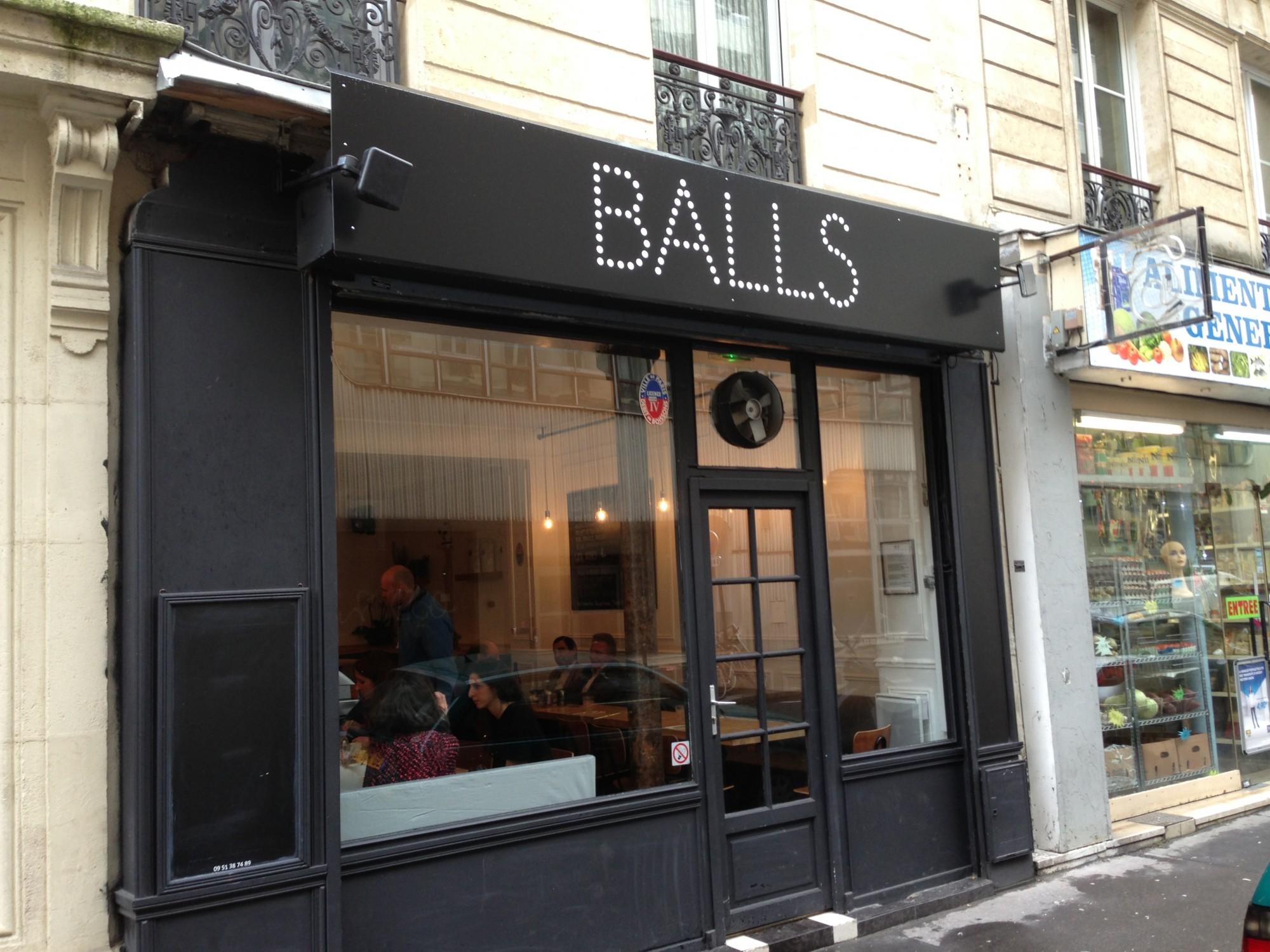 balls pour tous les amateurs de boulettes the parisienne. Black Bedroom Furniture Sets. Home Design Ideas