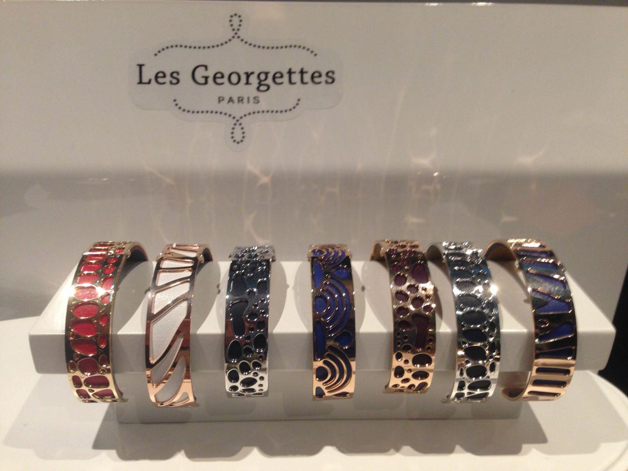 les georgettes bracelet cuir